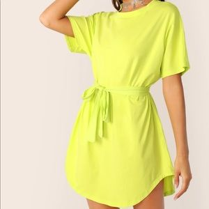 Dresses & Skirts - Neon Wrap Dress